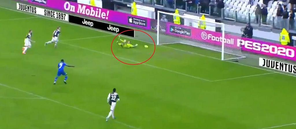 Fatalny błąd Juventusu