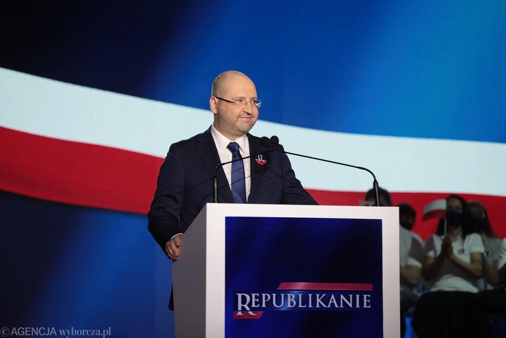 ?Prezentacja nowej partii Adama Bielana Republikanie w Warszawie