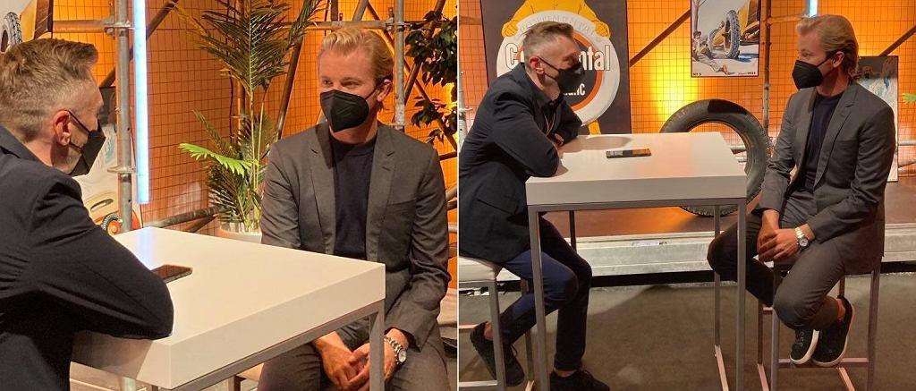 Nico Rosberg z autorem