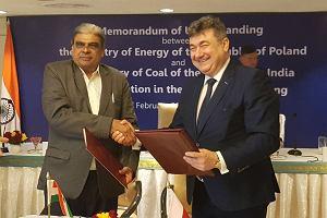 Polska podpisała z Indiami porozumienie o współpracy w dziedzinie górnictwa