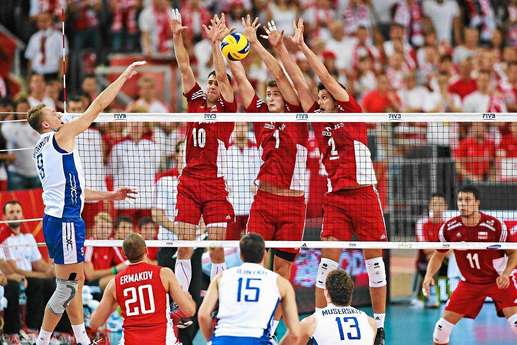 Polska - Rosja 3:2