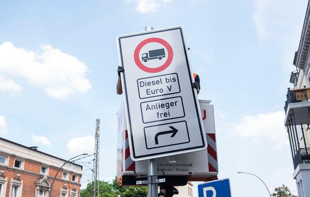 Hamburg zakazuje wjazdu starym dieslom do centrum