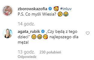 Zofia Zborowska, Agata Rubik