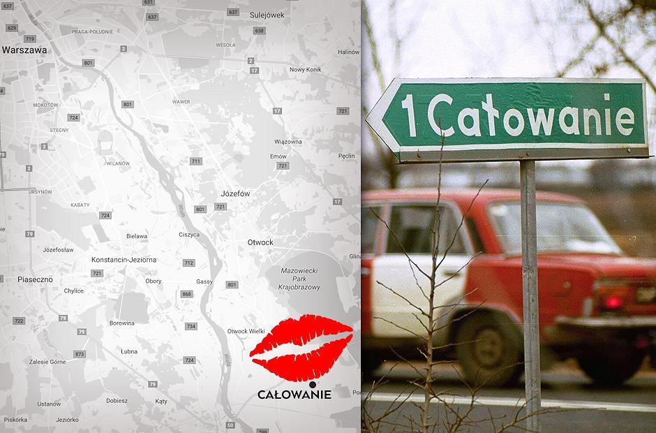 Jaka jest najbardziej romantyczna wieś w Polsce? Całowanie!