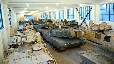 Amerykańskie uzbrojenie w tak zwanym 'wysuniętym składzie' na terenie Litwy