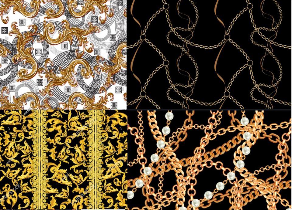 Wzory i motywy Versace