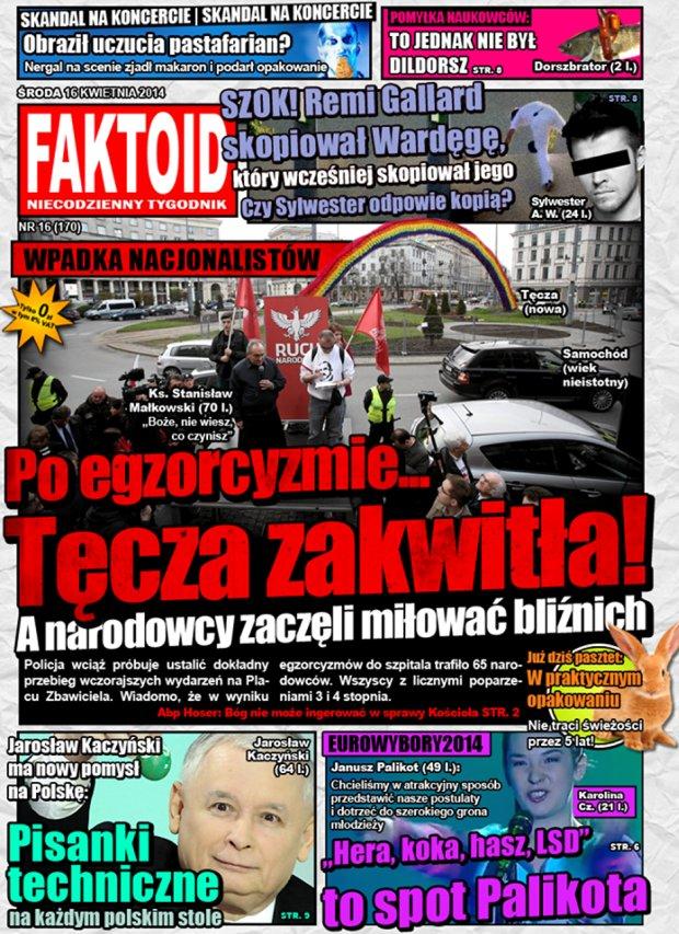 16 kwietnia 2014, nr 15 (170) -  - Faktoid