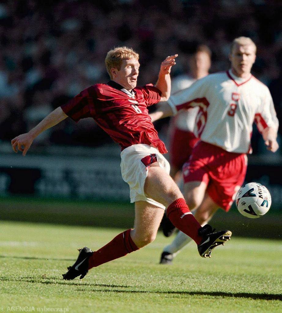 Paul Scholes. Wembley, 1999 r.
