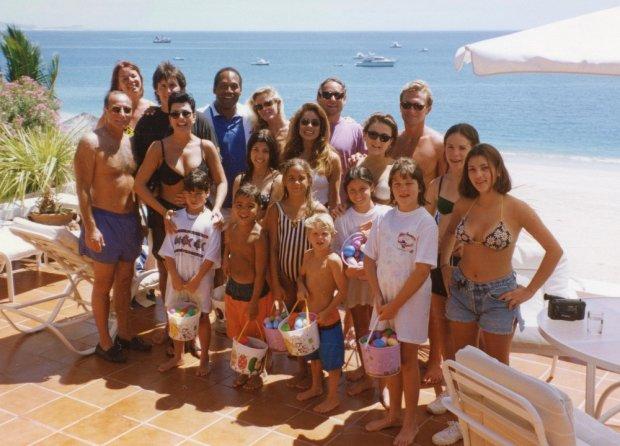 Rodzina Kardashianów w 1994 roku