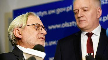 Prof. Wojciech Maksymowicz i wicepremier Jarosław Gowin