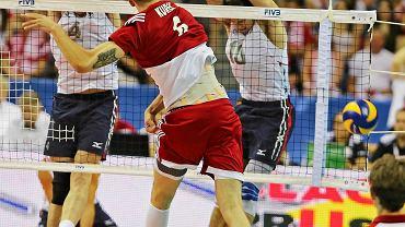 Liga Światowa. Polska - USA 1:3. Bartosz Kurek