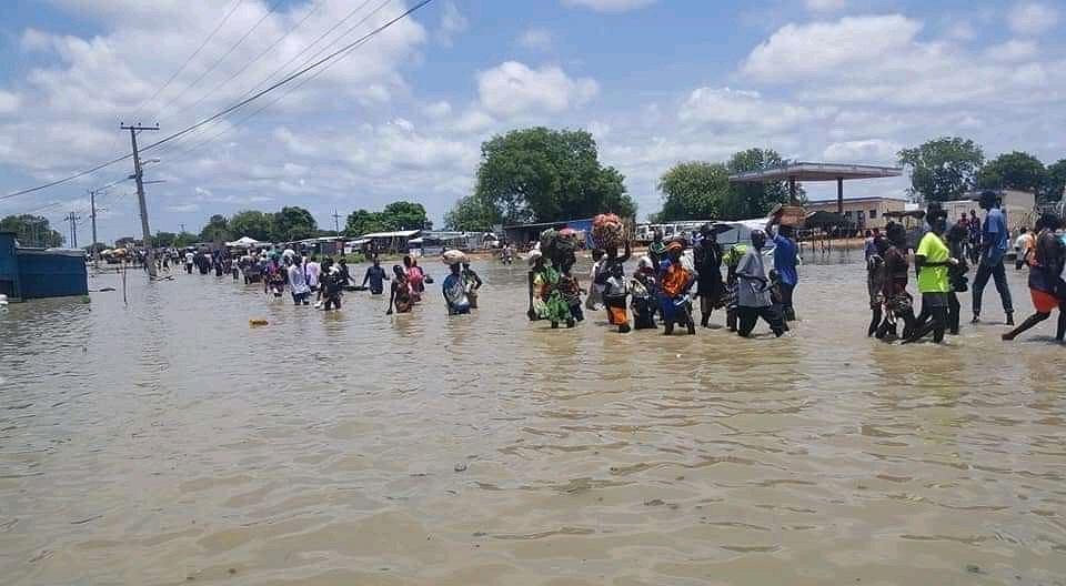 Powódź w Sudanie Południowym