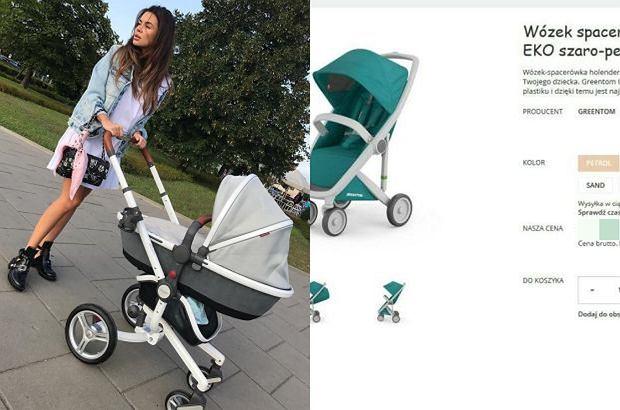 Zdjęcie numer 0 w galerii - Natalia Siwiec wozi córkę w wózku za 15 tys. Inne też są kosmicznie drogie? Pojazd syna Zakościelnego kosztuje