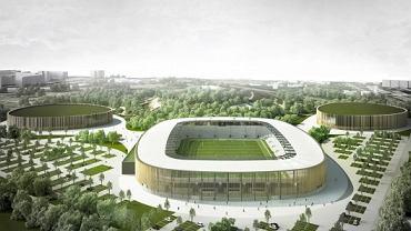 Projekt nowego stadionu Zagłębia Sosnowiec