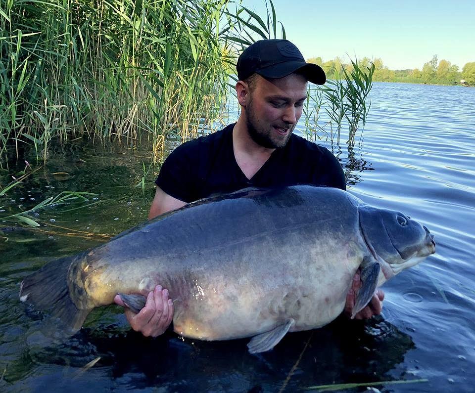 Karp z łowiska Gosławice - 34,4 kg