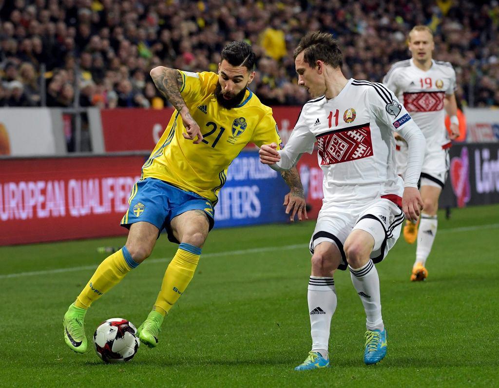 Sweden Belarus Soccer WCup