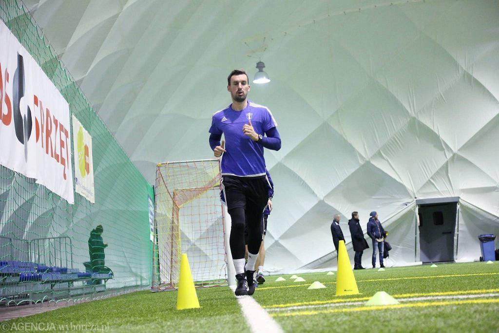 Piłkarze Wisły Płock podczas przygotowań do rundy wiosennej I ligi