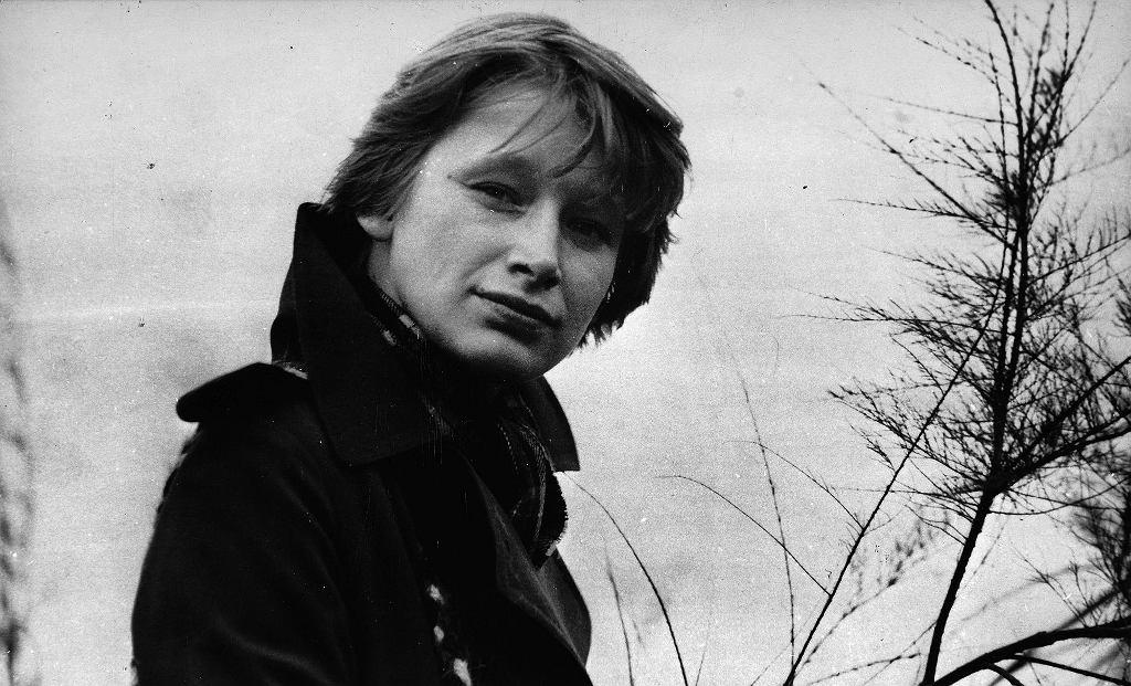 Jadwiga Jankowska-Cieślak, kadr z filmu 'Sam na sam'