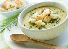 Zupa krem z cukinii - ugotuj