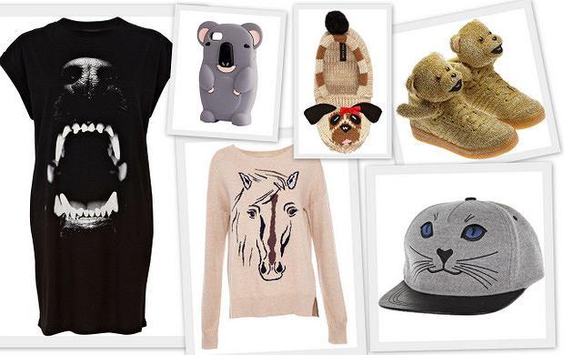 HIT: ubrania i dodatki ze zwierzętami