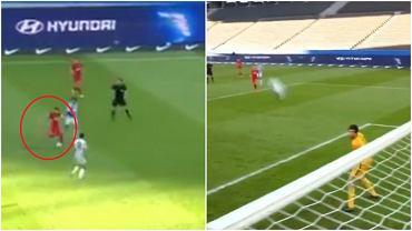 Marcel Sabitzer strzela piękną bramką na 1:0 w meczu RB Lipsk z Herthą Berlin