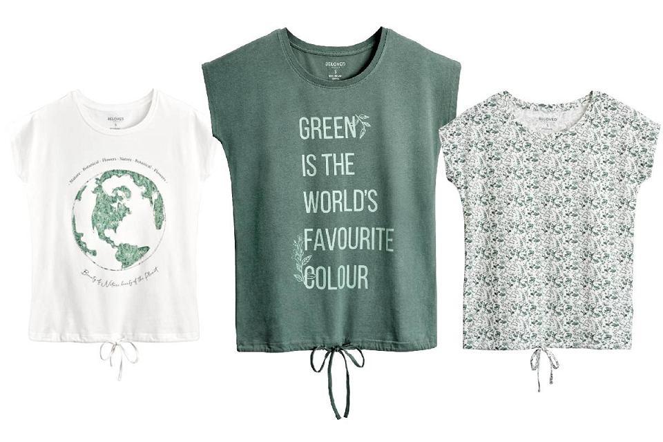 T-shirty z bawełny organicznej Pepco za 15 zł