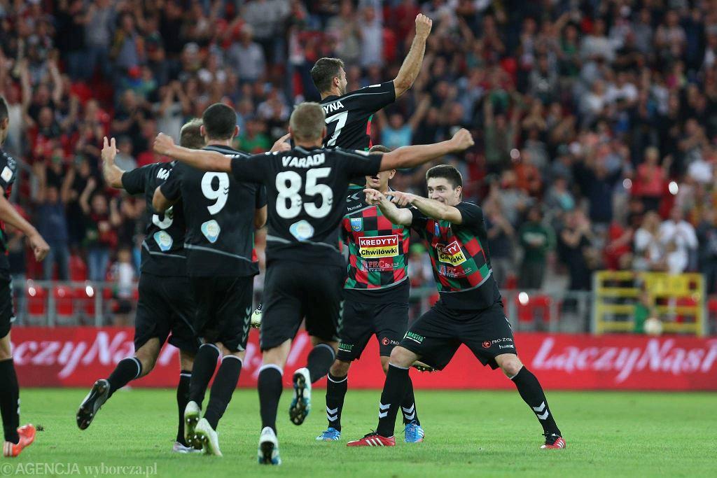 Piłkarze GKS-u Tychy