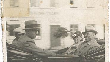 Czesław Freudenreich z córką
