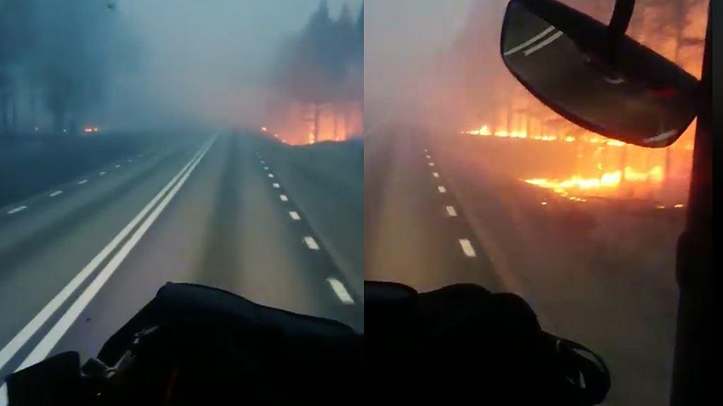 Pożary w Szwecji