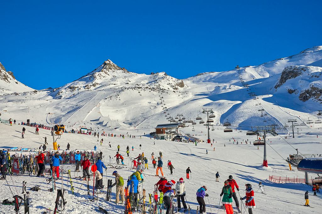 Ischgl - austriacki kurort narciarski.