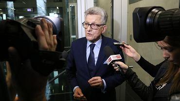 Poseł Stanisław Piotrowicz, przewodniczący Komisji Sprawiedliwości i Praw Człowieka