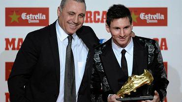 Christo Stoiczkow i Leo Messi