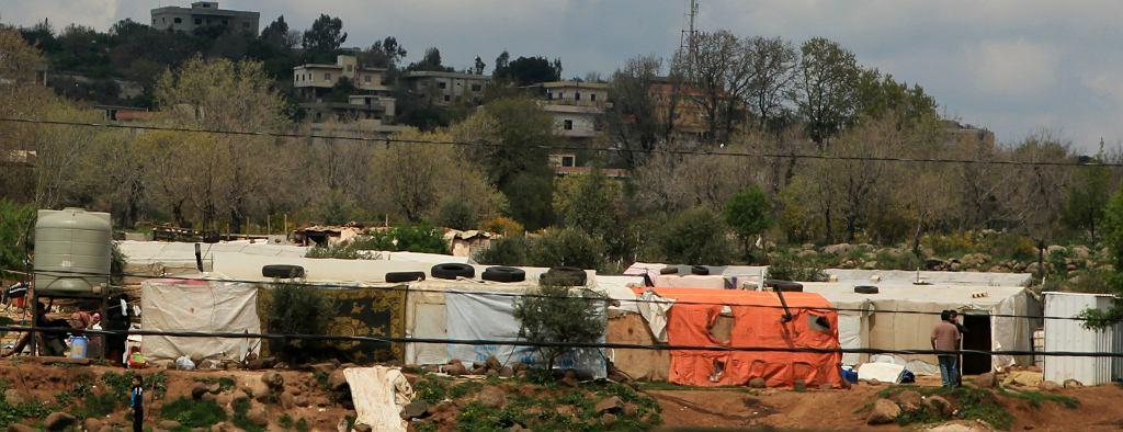 Nieformalne obozowisko na północy Libanu