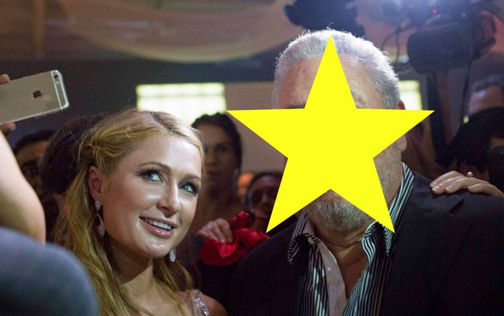 Paris Hilton i Fidel Castro Diaz-Balart
