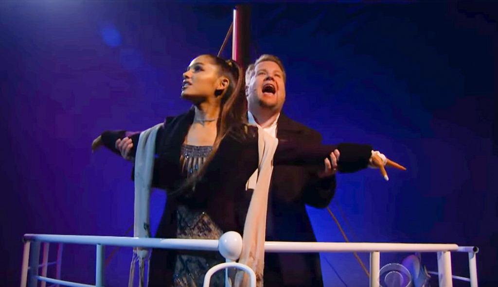 Ariana Grande & James Corden