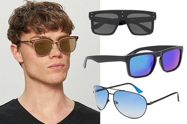 Kolaż / Modne okulary męskie 2019
