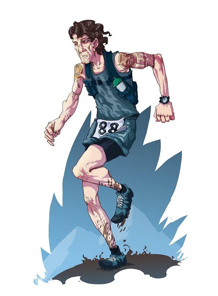 Chudy Wawrzyniec - patron ultramaratonu w Beskidzie Żywieckim