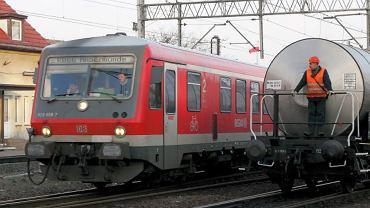 Pociąg Deutsche Bahn na stacji Szczecin-Gumieńce. Pomorze Zachodnie potrzebuje lepszych połączeń kolejowych z Niemcami