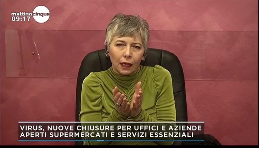 Włoska biznesmenka Irene Pivetti