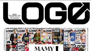 Okładka jubileuszowego, a zarazem ostatniego numeru magazynu 'Logo'.