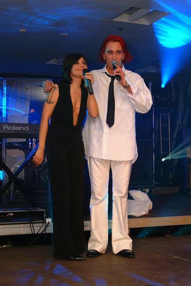 Michał Wiśniewski, Mgda Femme w 2001 roku