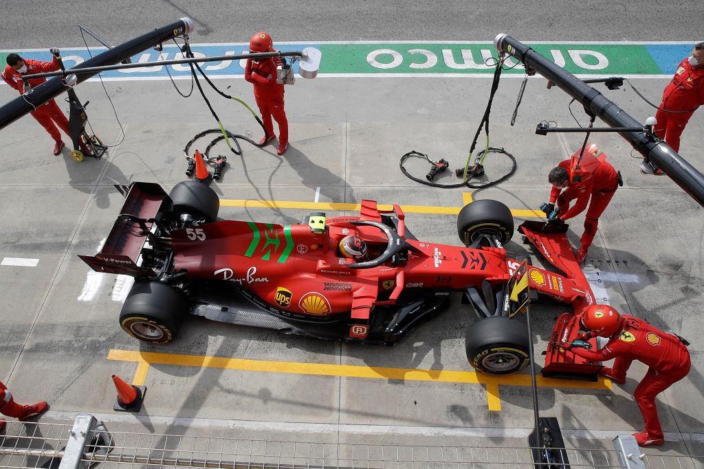 Robert Kubica podczas GP Hiszpanii Formuły 1. Źródło: Eleven Sports