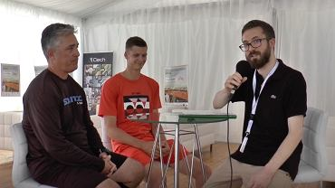 Hubert Hurkacz: Djoković widzi we mnie przyszłość tenisa. Zrobię wszystko, by nią być