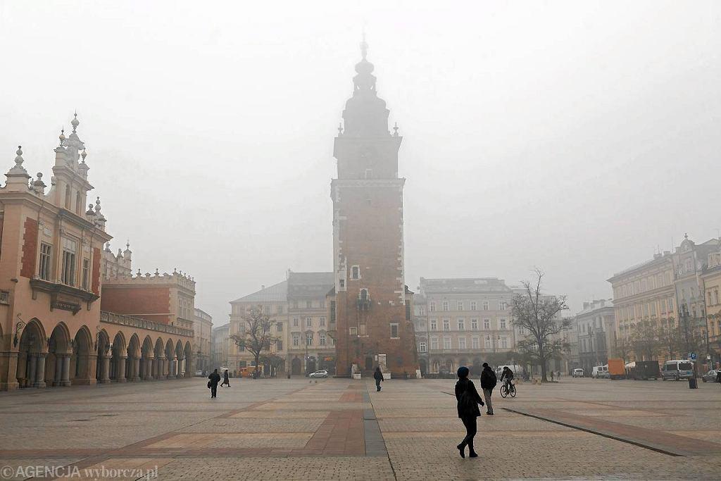 Kraków od lat zmaga się z chmurą smogu