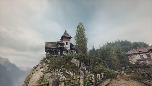 Budynek w komputerowej wersji z gry 'Zaginięcie Ethana Cartera'