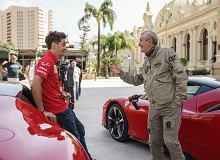 Kierowca pędził Ferrari po ulicach Monako. Leclerc i Lelouch kręcą sequel słynnego filmu.
