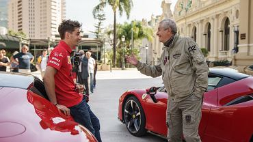 Charles Leclerc i Claude Lelouch