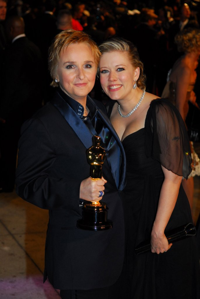 Melissa Etheridge i Tammy Lynn Michaels w 2007 roku