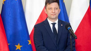 Członek Rady Ministrów Michał Dworczyk. Wrocław, 22 maja 2020