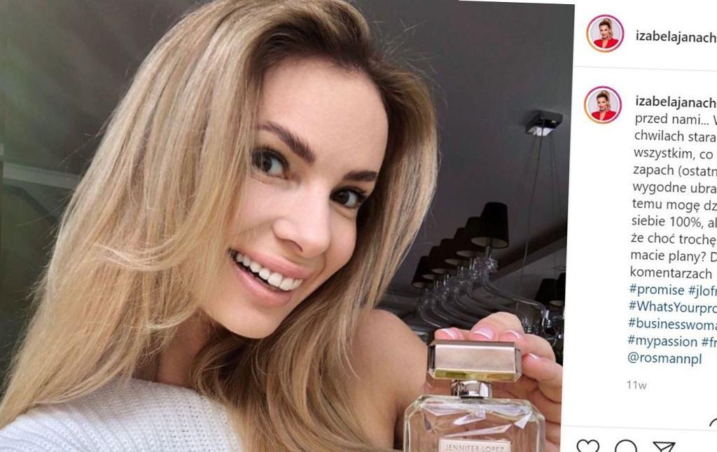Izabela Janachowska, Instagram